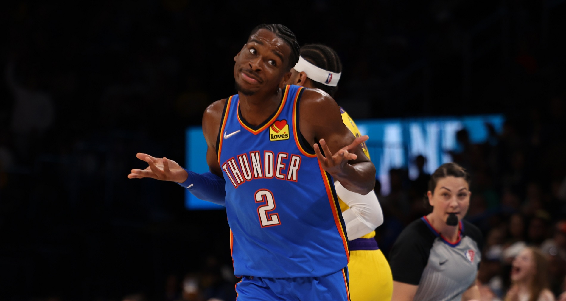 Thunder rally from 26 down to shock Lakers