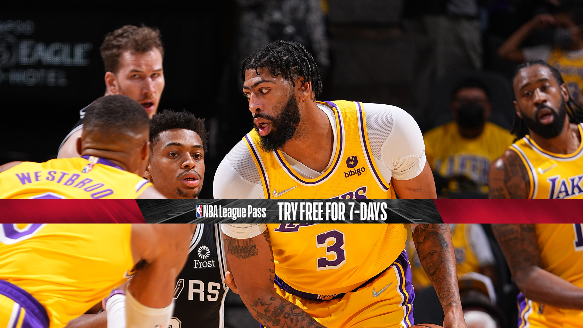 Lakers face Spurs with LeBron sidelined by ankle injury