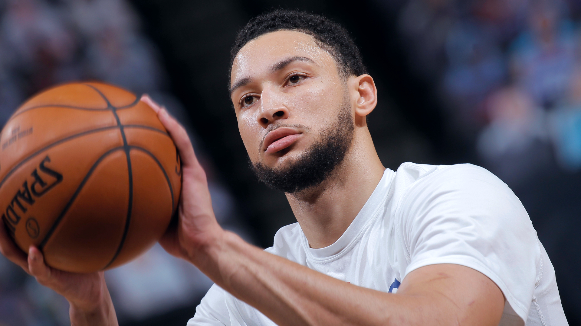 Ben Simmons sits out home opener, still not ready to join 76ers