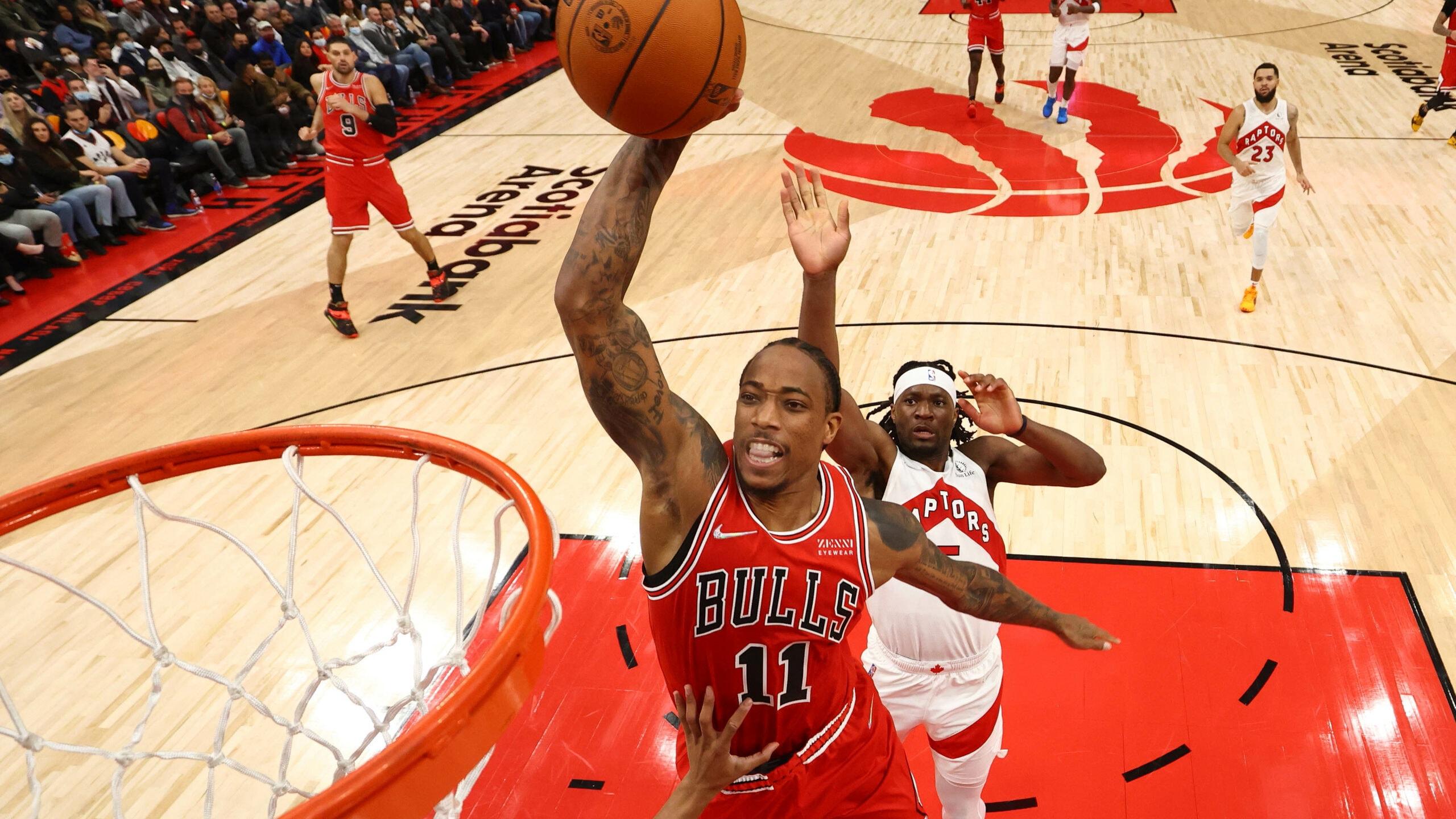 Bulls drop Raptors for best start in 25 years