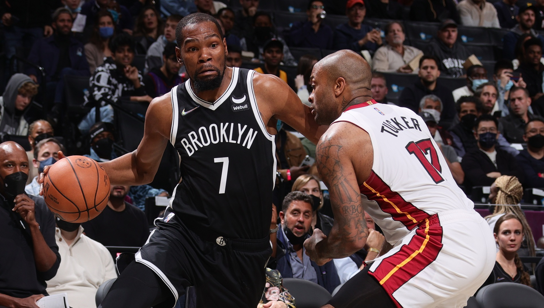 East powers square off as Miami travels to Brooklyn
