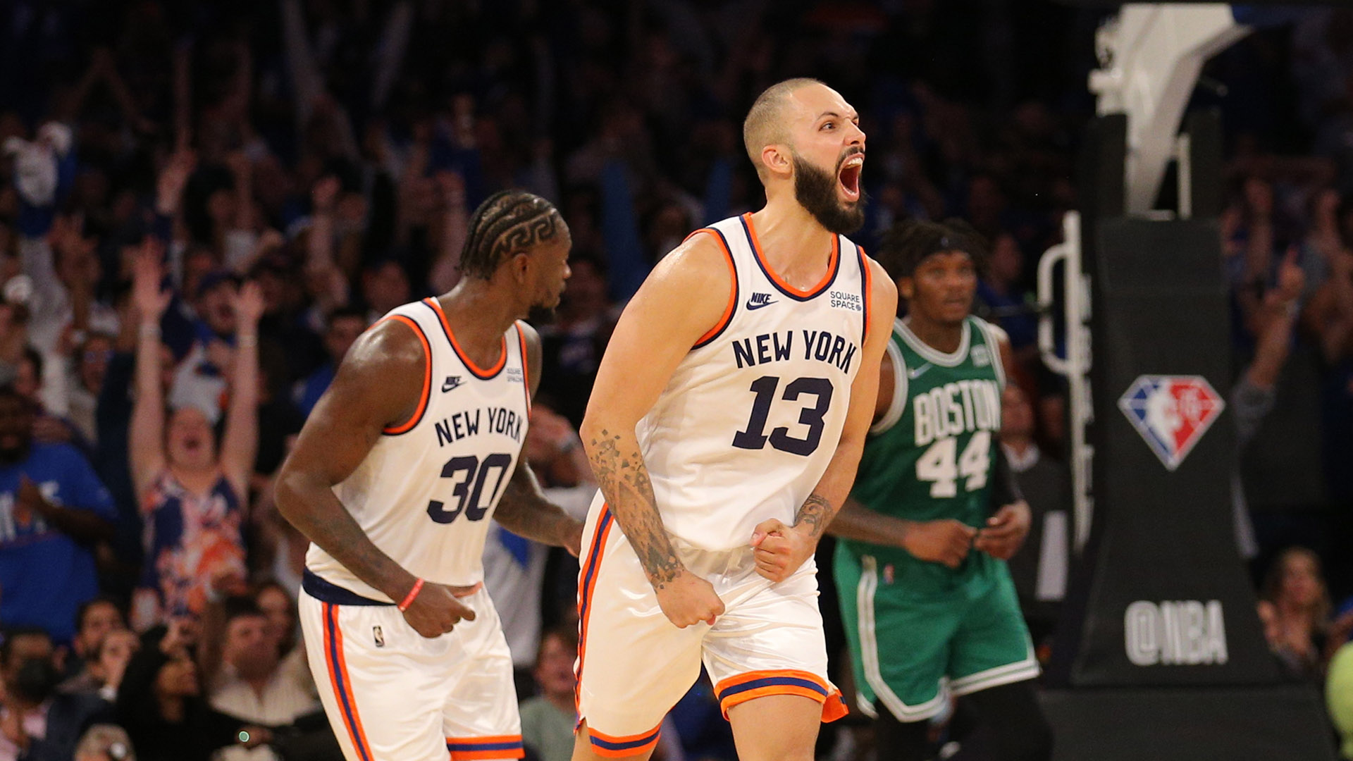 Full Focus: Knicks oust Celtics in wild 2OT thriller