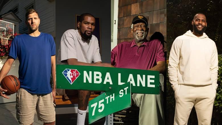 NBA players react to premiere of 'NBA Lane'