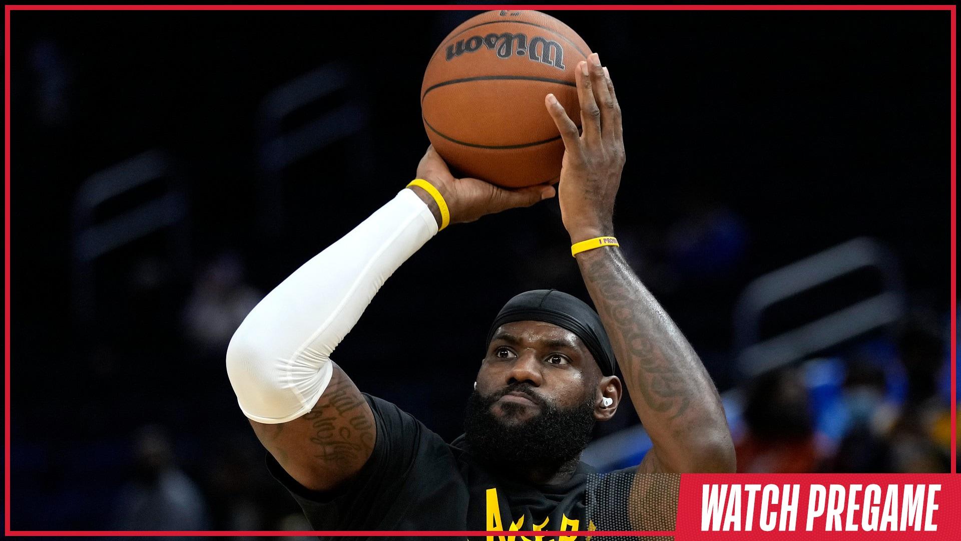 Watch Free: Lakers vs. Spurs Pregame