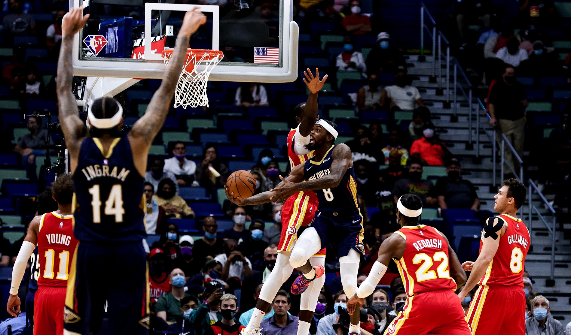 Hawks looking for better road result in New Orleans