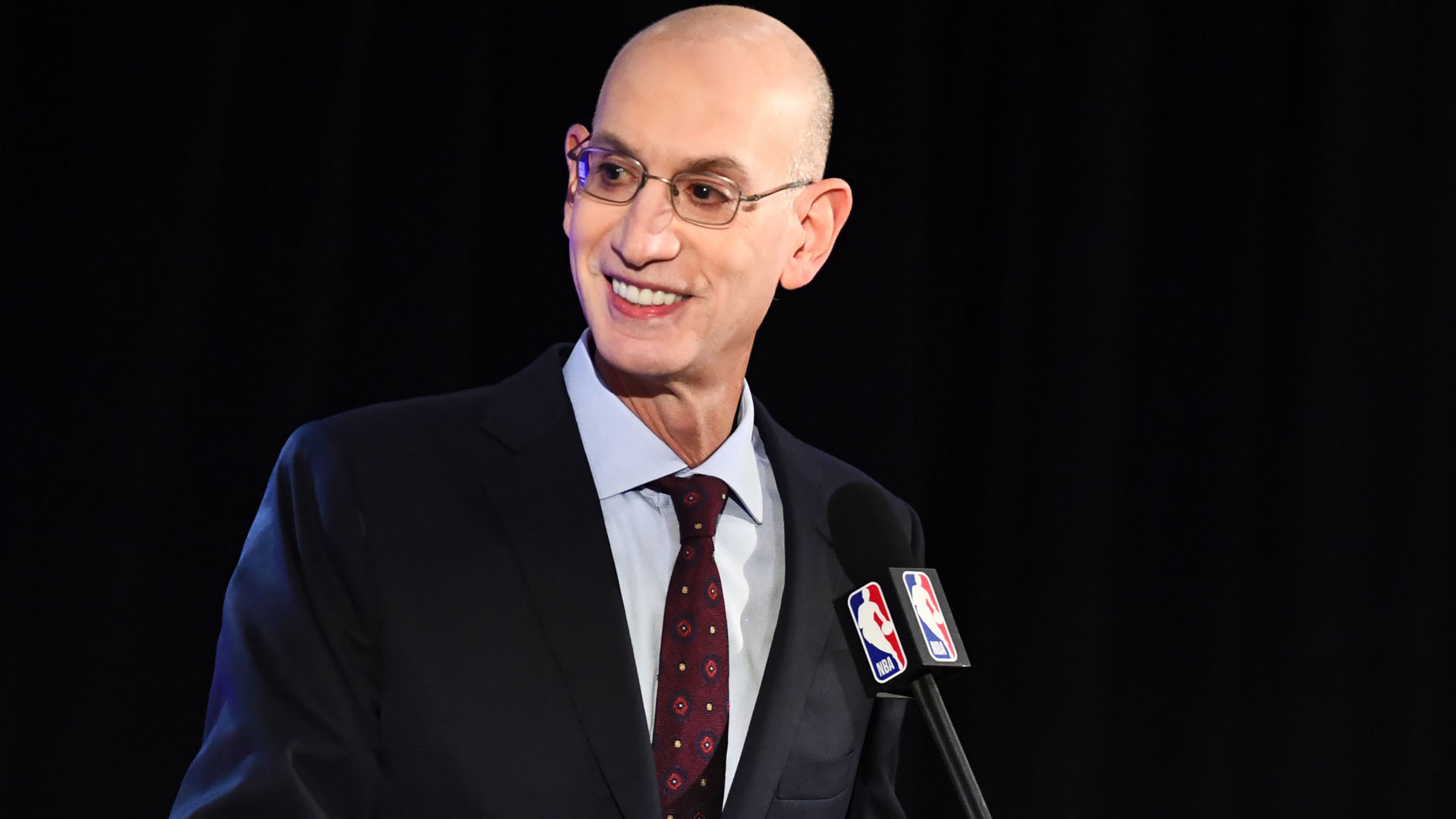 Adam Silver addresses upcoming 2021-22 season, comments on Kyrie Irving's vaccination status