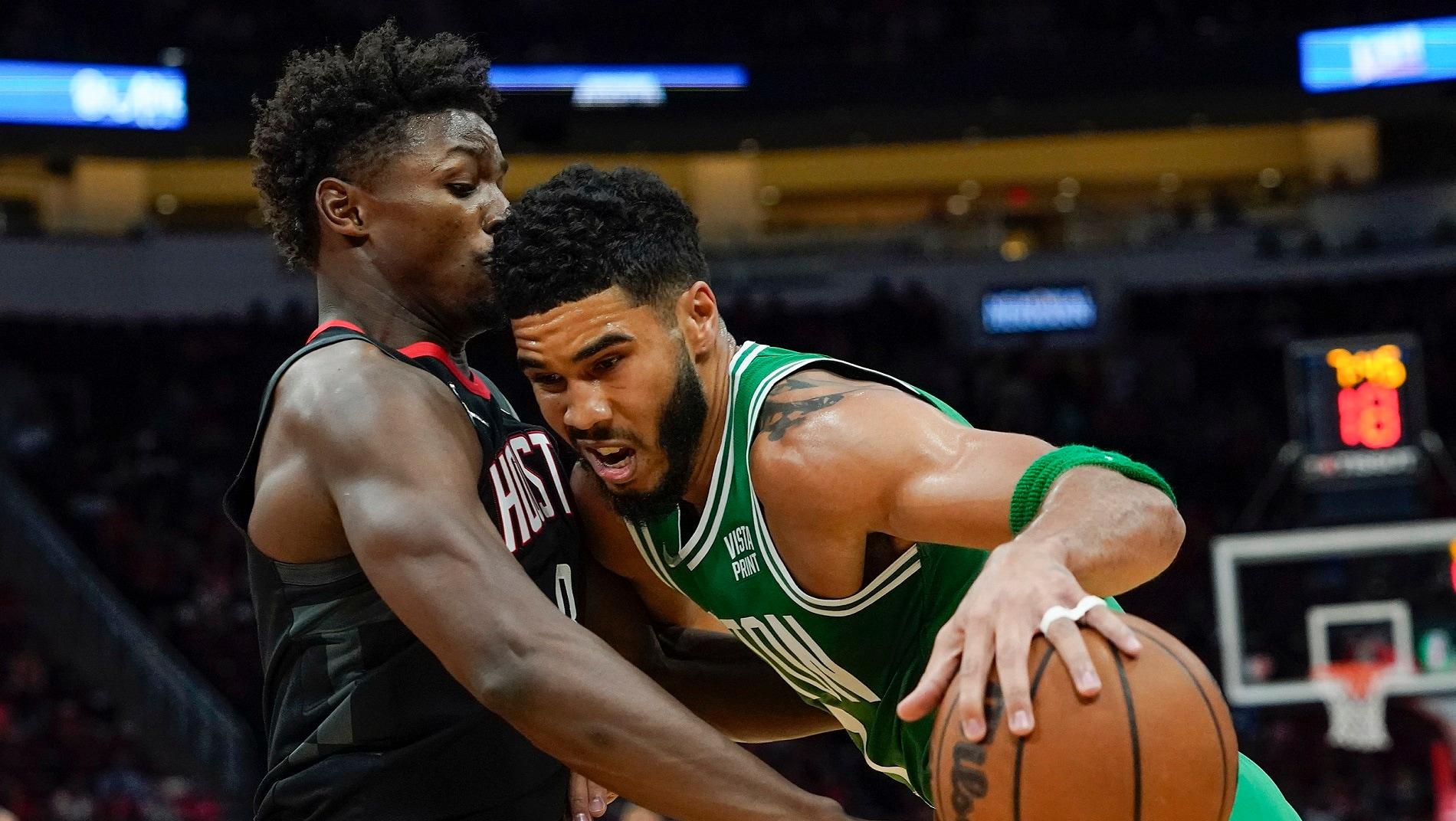 Celtics take on Rockets seeking 1st victory of season