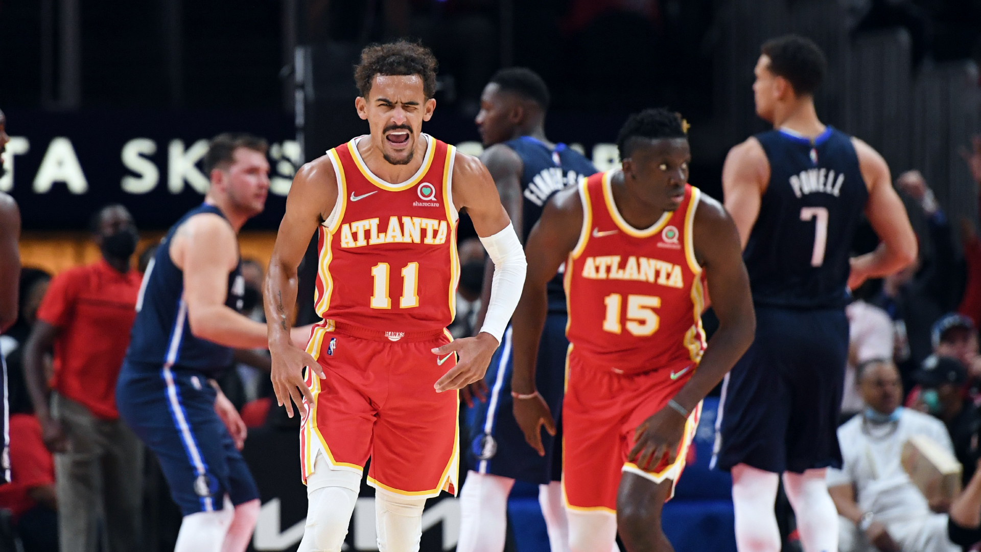 Young, Hawks open season with rout of Mavericks