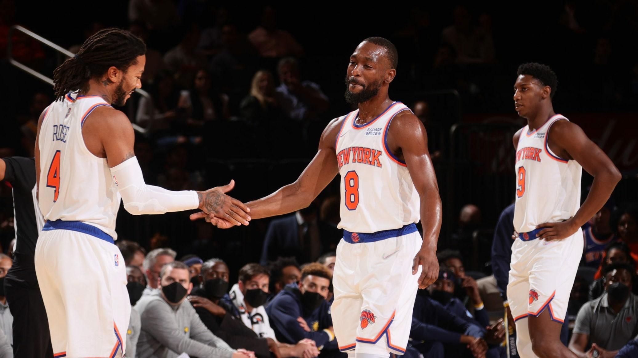 Kemba makes MSG debut as Celtics visit Knicks
